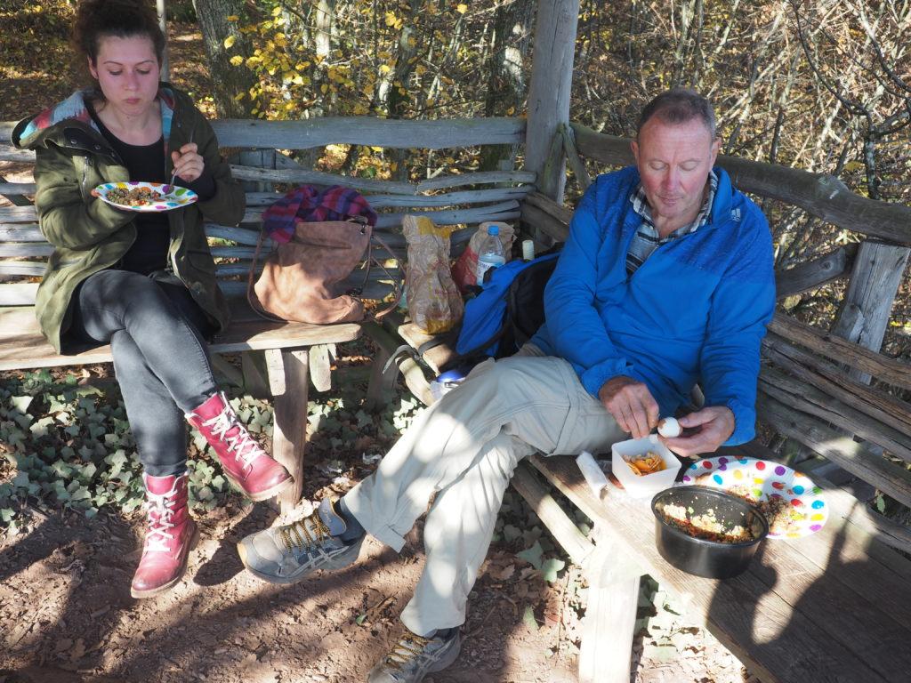 Helmut und Jenny Calmont Klettersteig