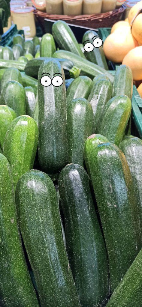Zucchini vegan