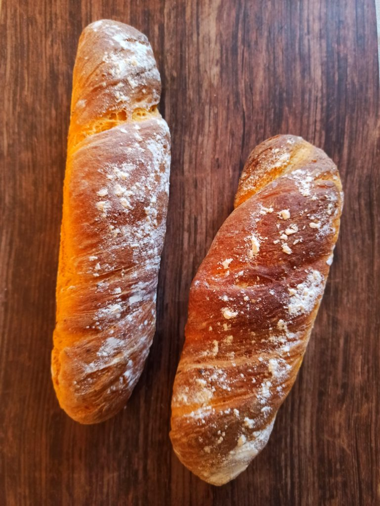 Süßkartoffel Baguette