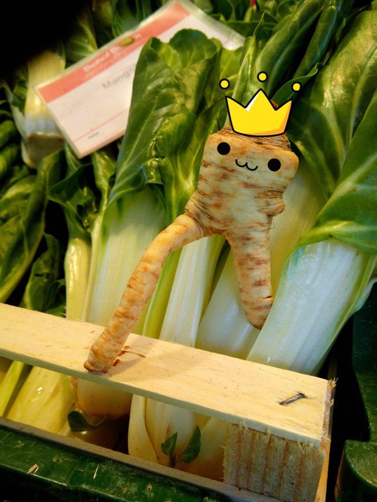 Starkes Gemüse.